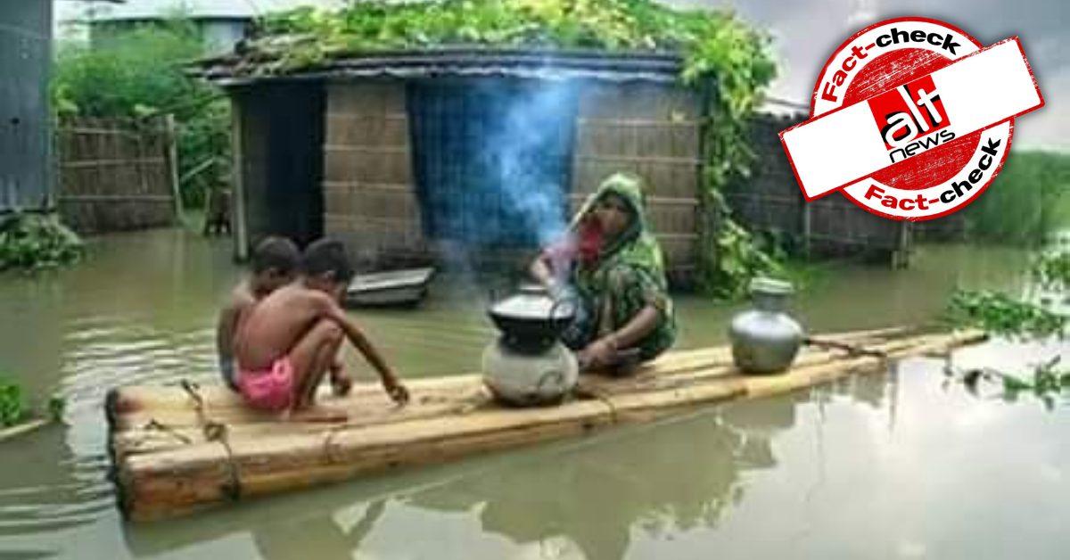 Gujarat Congress Seva Dal shares photo from Bangladesh as aftermath of rain in India - Alt News