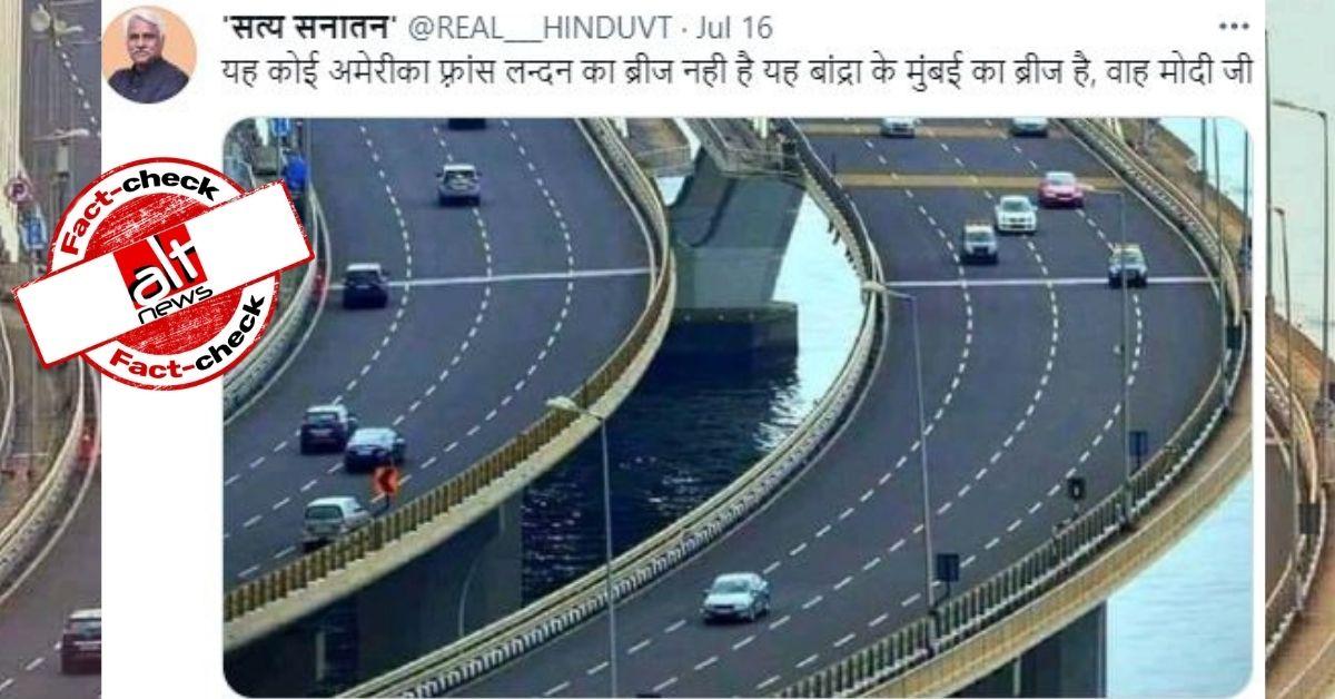 Bandra-Worli Sea Link inaugurated by Sonia Gandhi in 2009 credited to PM Modi - Alt News