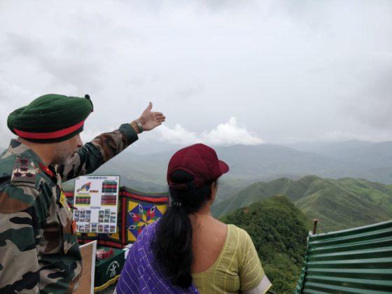 Sitharaman visits Myanmar border