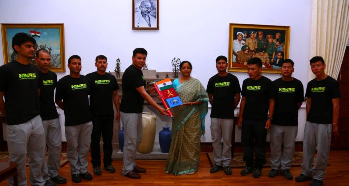 Defence minister flags-in expedition team to Mt Everest