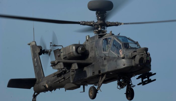 US approves sale of 6 Apache attack helicopters to India