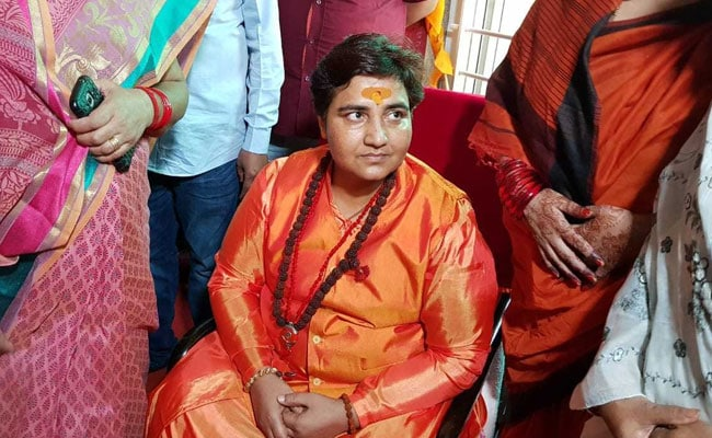 'Take back my words': Sadhvi Pragya after backlash over 26/11 hero remark