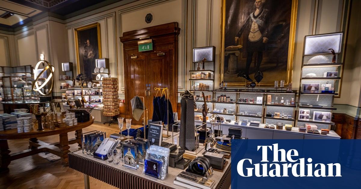 Something for secret Santa? The Freemasons open a gift shop