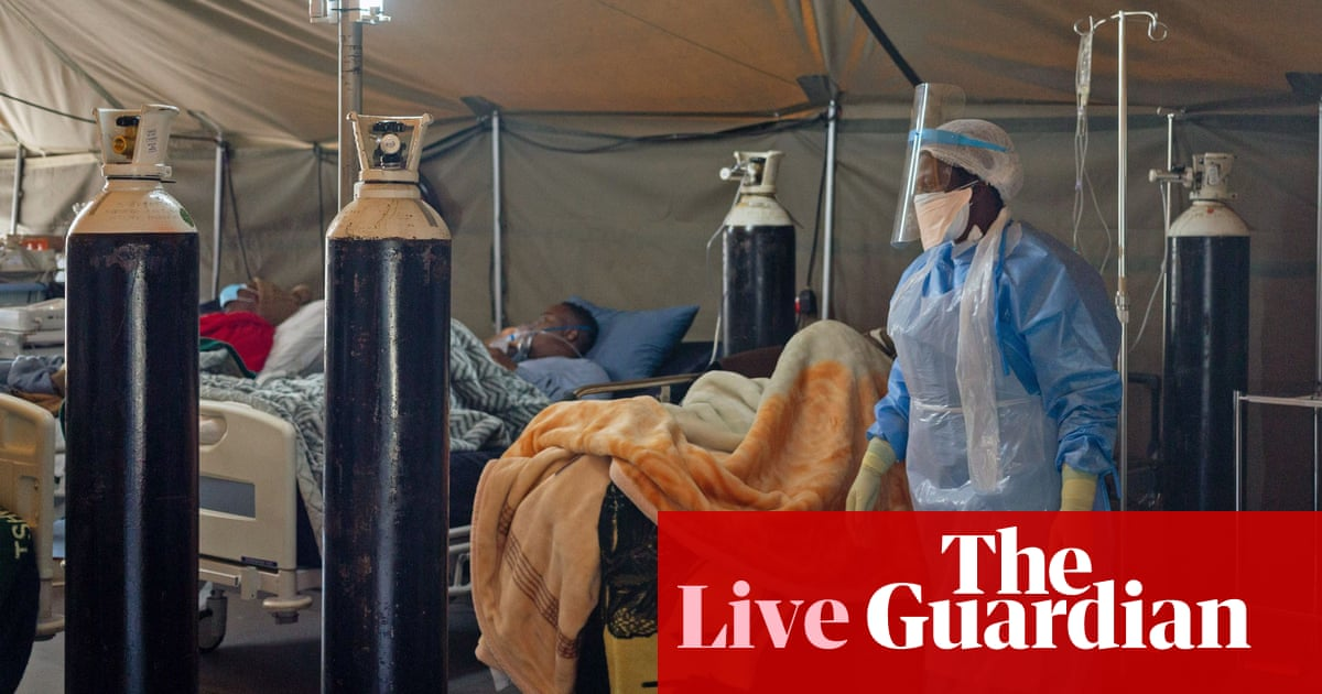 Coronavirus live news: WHO reports record global cases as South Africa reinstates alcohol ban