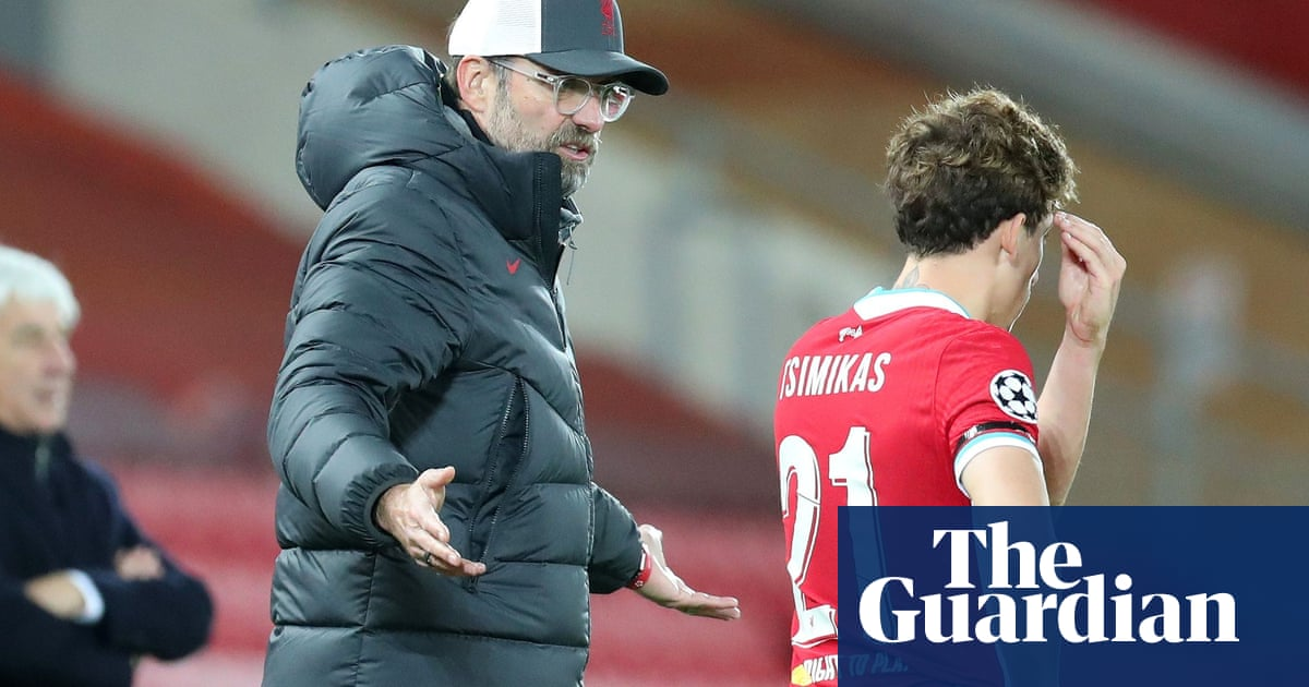 Liverpool players cannot use fixture list as an excuse, says Jurgen Klopp