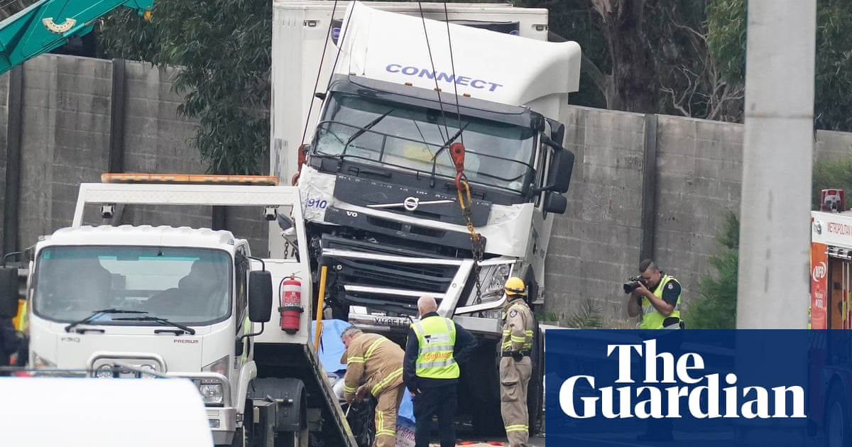 Truck driver Mohinder Singh pleads guilty over Eastern Freeway crash in which four police died