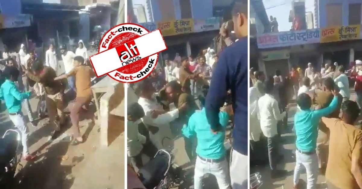 Violence between police and civilians in Rajasthan given false communal spin - Alt News