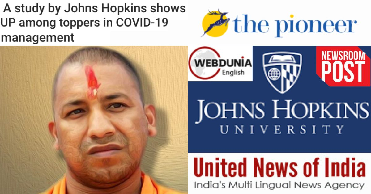 Did Johns Hopkins hail UP among toppers in managing COVID across the world? - Alt News