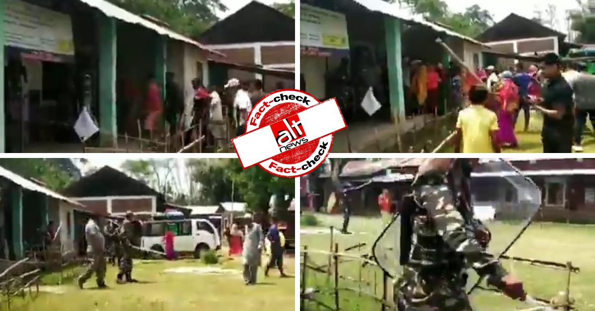 Old video from Manipur viral as poll violence in West Bengal's Cooch Behar - Alt News