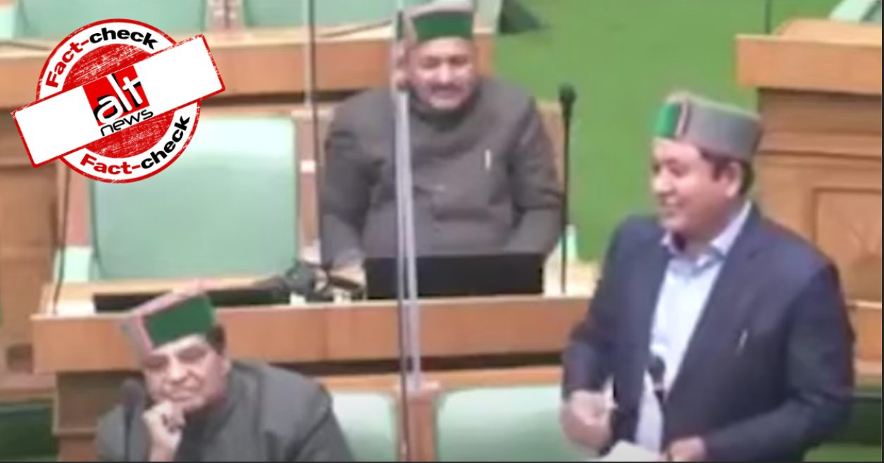 Congress MLA JS Negi's speech viral as Nepalese leader criticises PM Modi - Alt News