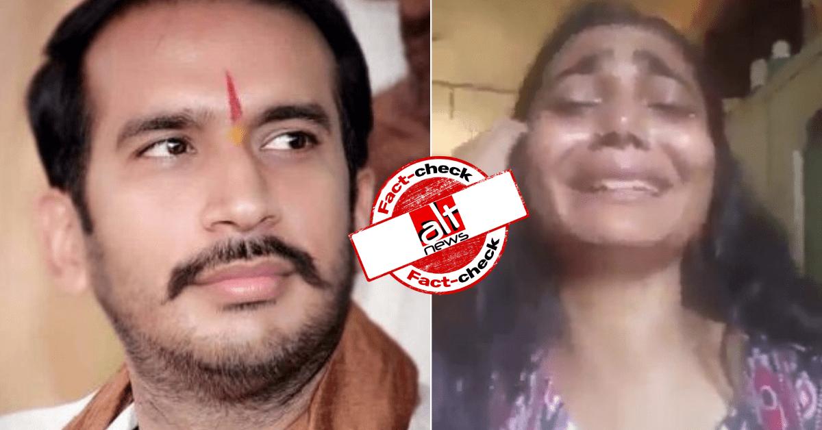 BJYM's Abhijat Mishra falsely claims illegal Bangladeshis attack Bihari family in West Bengal - Alt News