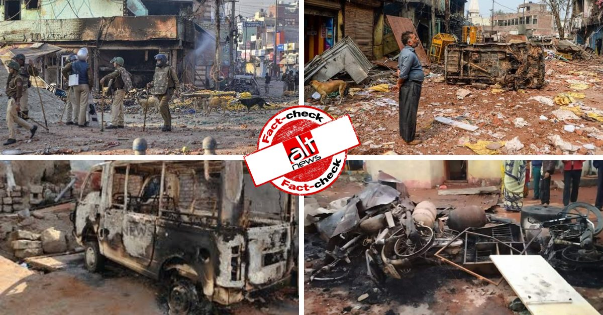 Old photos of aftermath of communal riots shared as recent Bhainsa violence - Alt News