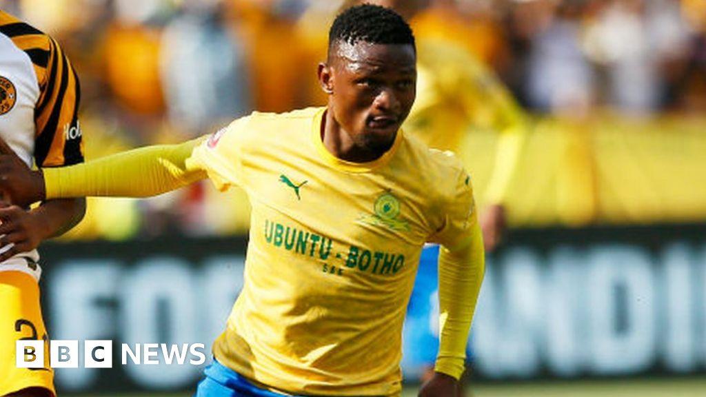 Motjeka Madisha: South Africa footballer dies in car crash
