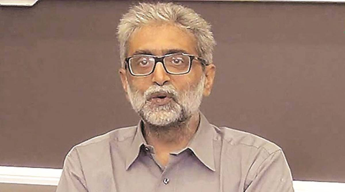 Elgaar Parishad case: Navlakha says glasses stolen; replacement sent through post not allowed inside jail