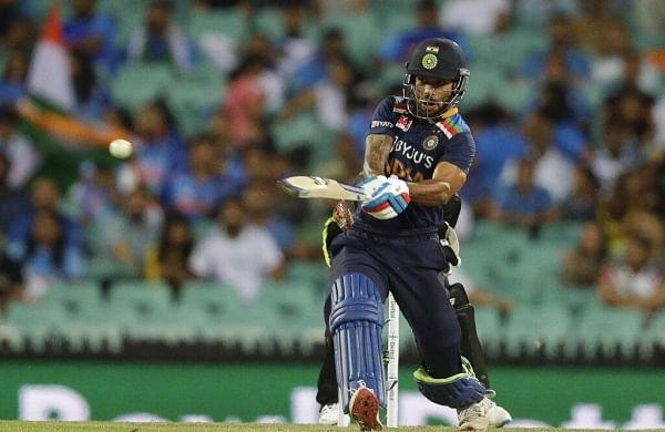 Dhawan, Pandya lead India to victory againstAustralia; clinch series