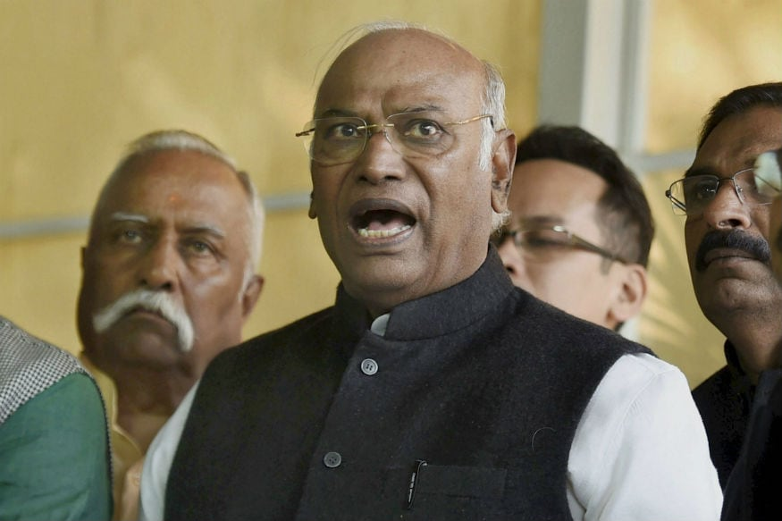 Our government stable, why is BJP hiding its MLAs, asks Kharge