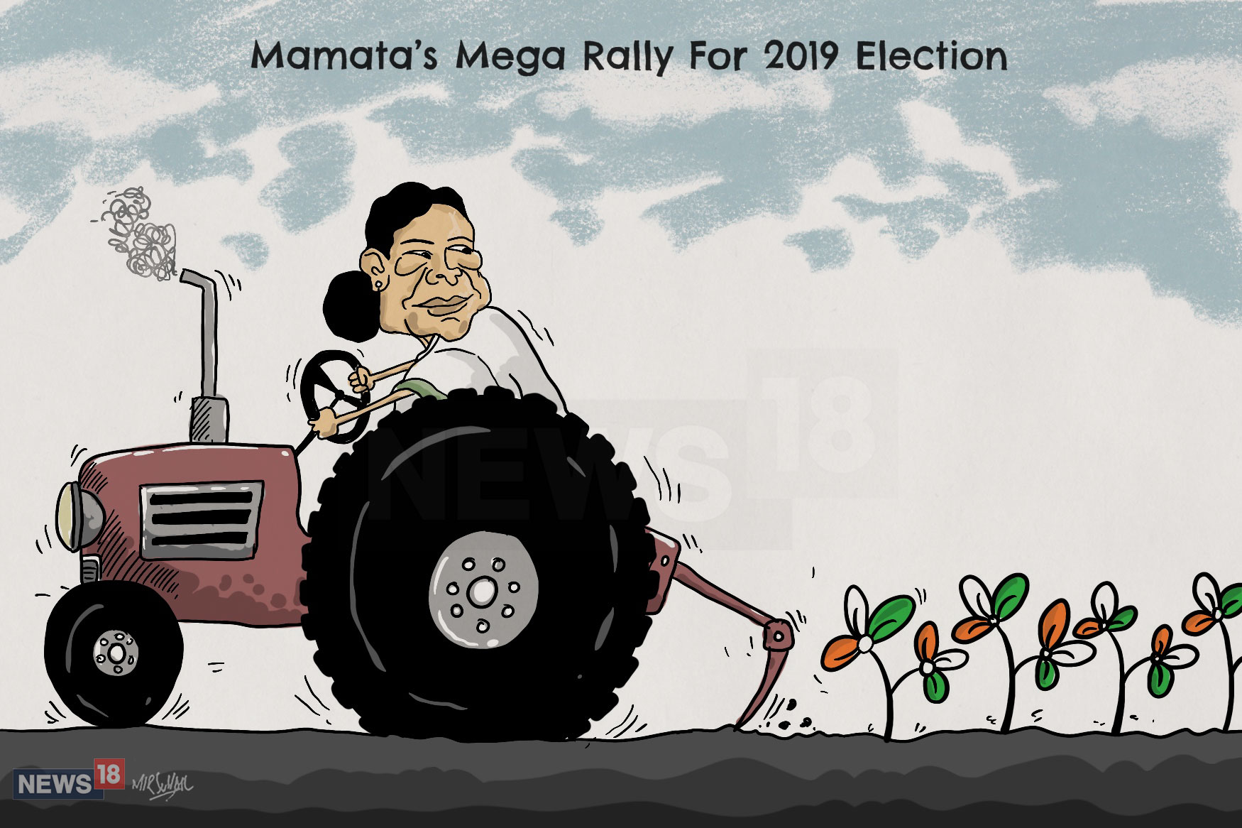 Donning the image of a fighter, Mamata walks down the 2019 aisle in Modi's style