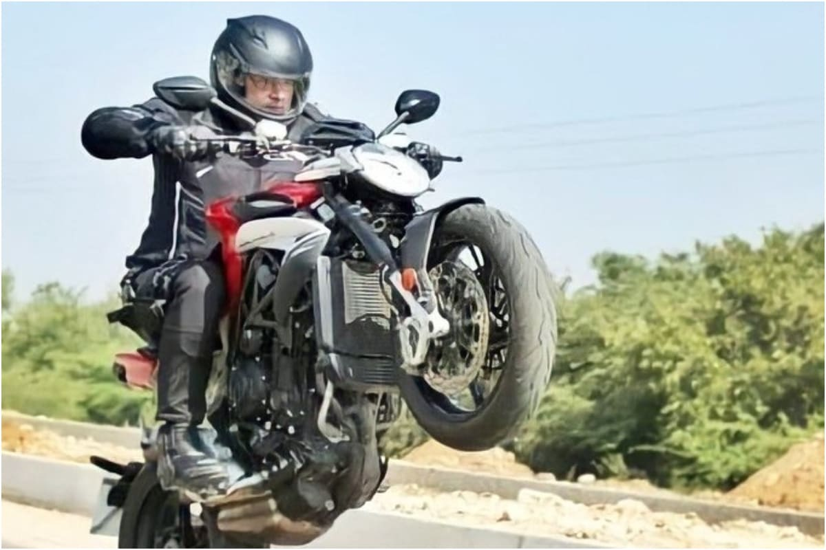 Pic of Ajith Performing Bike Stunt at Valimai Sets Sends Fans Into Frenzy