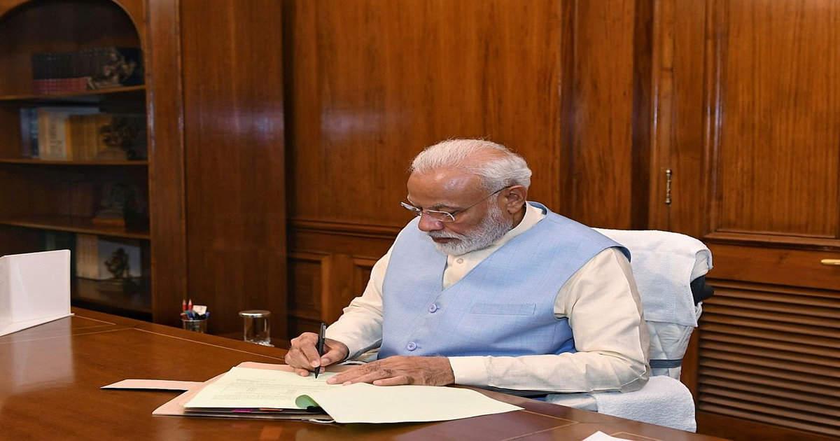 पंचायती राज दिवस की पूर्व संध्या पर मंत्री नरेंद्र सिंह तोमर को पीएम मोदी की चिट्ठी, हम कोरोना से जीत जाएंगे