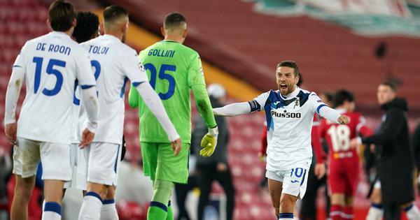 Champions League wrap: Atalanta stun Liverpool at Anfield; Bayern, Man City qualify for last 16