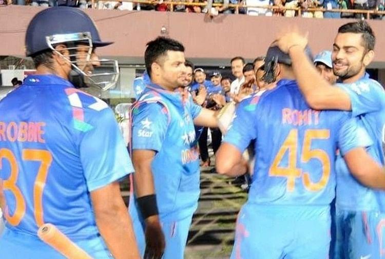 आज ही के दिन रोहित शर्मा ने बनाए थे रिकॉर्ड 264 रन, उथप्पा की कुर्बानी इतिहास में दर्ज