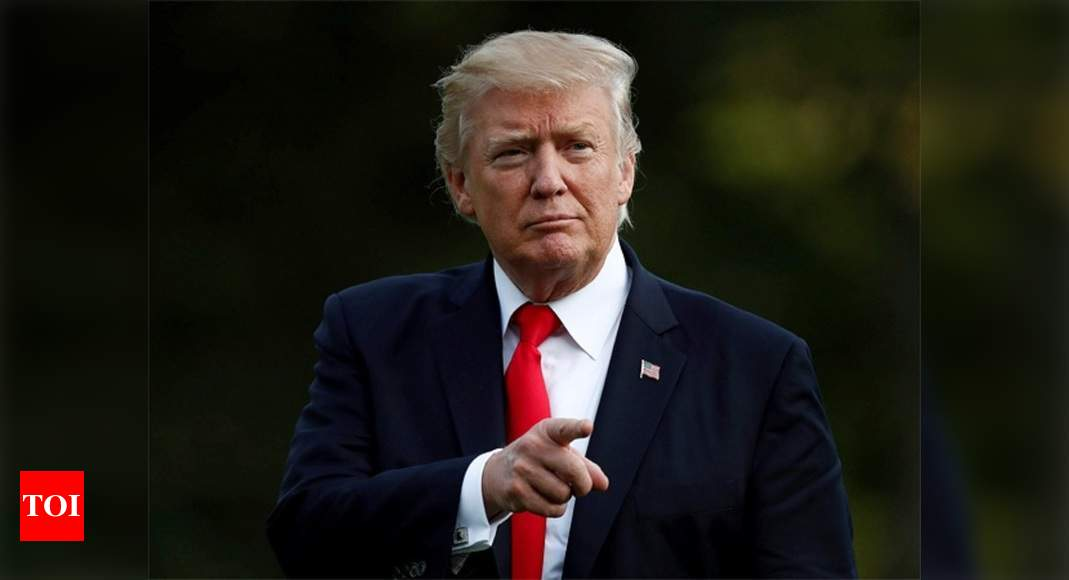 As Trump tightens screws on China, cause for India to worry - Times of India
