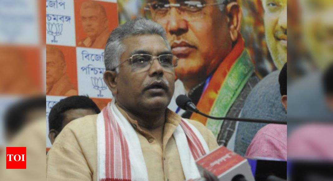 Artificial potato crisis created in West Bengal, TMC govt to blame: Dilip Ghosh | Kolkata News - Times of India