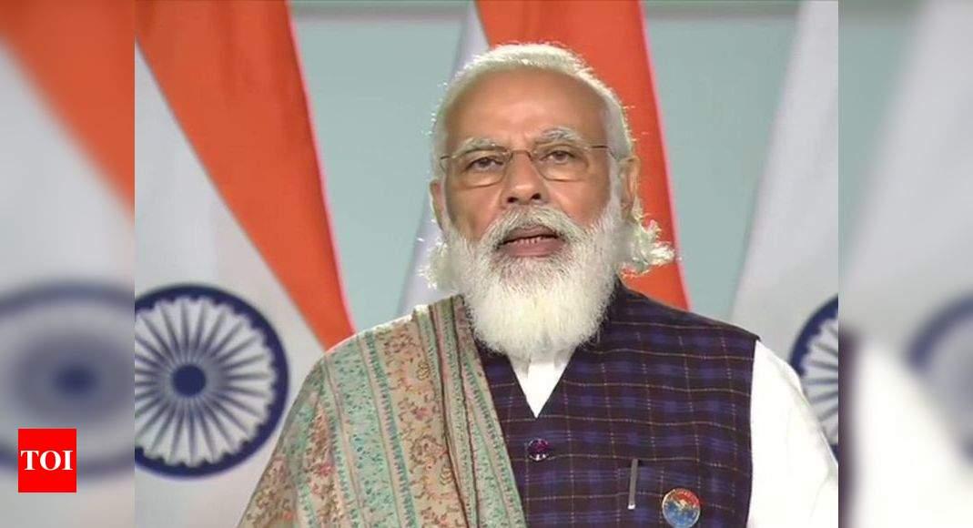 Agra Metro Project: PM Narendra Modi inaugurates construction work | Agra News - Times of India