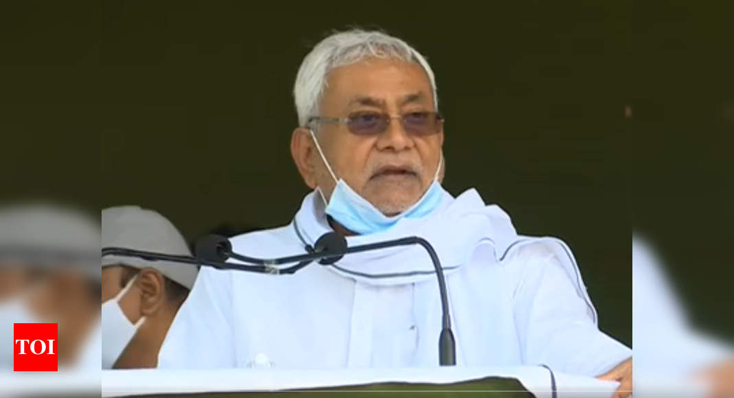 60% of crimes in Bihar occur due to land-related disputes, says CM Nitish Kumar   Patna News - Times of India