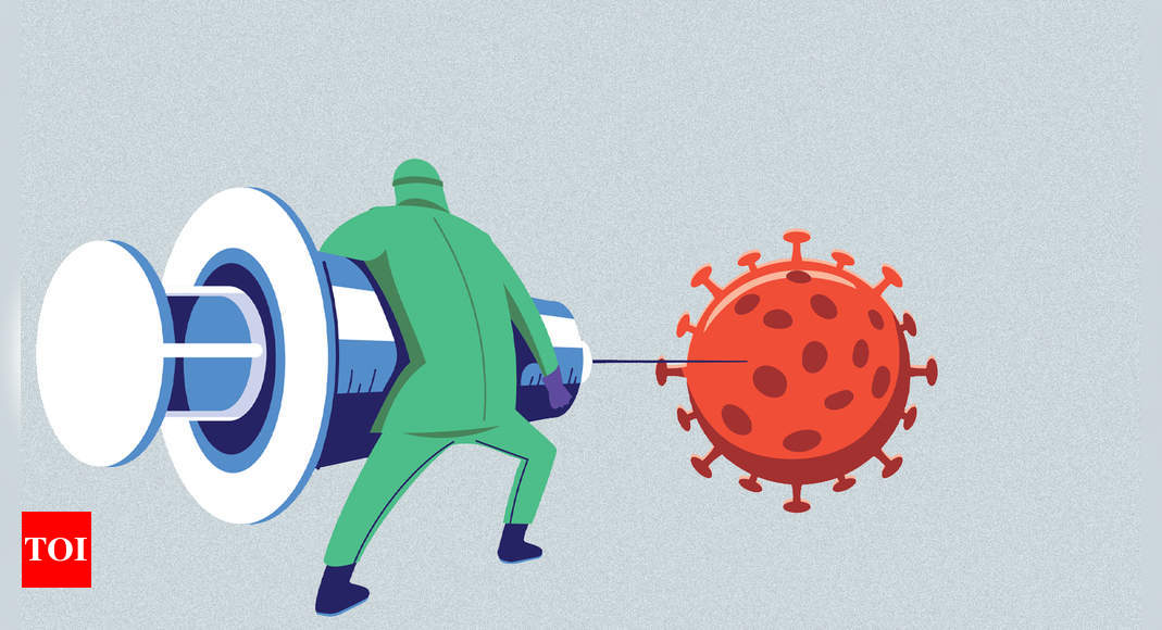 Why vaccine is a better shot  at immunity than infection - Times of India