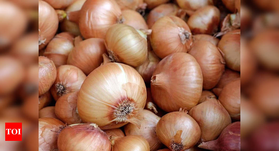 Onion price to be stable this week | Chennai News - Times of India