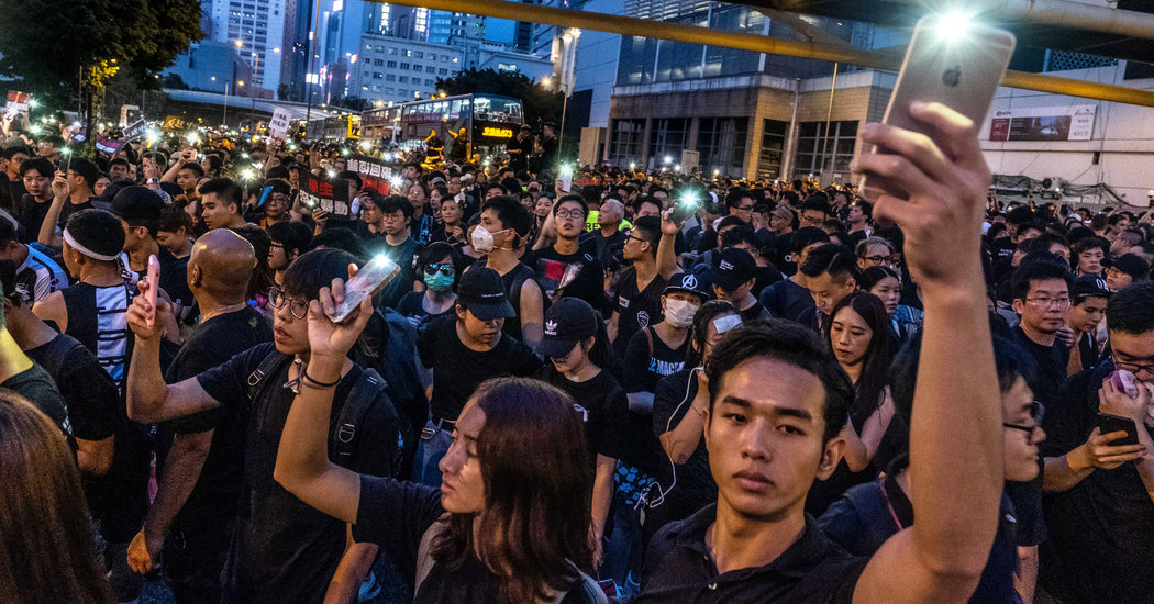 In Hong Kong, a Proxy Battle Over Internet Freedom Begins